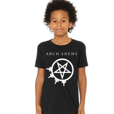 Kids Arch Enemy Pure Fucking Metal youth tee t-shirt back