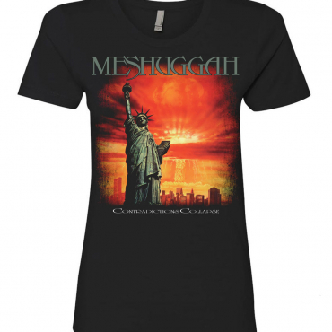 Meshuggah Contradictions Collapse Ladies tee t-shirt