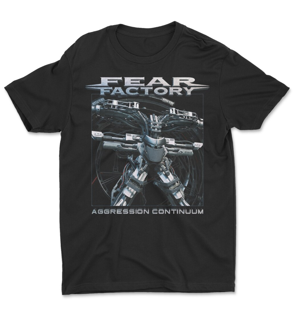 Fear Factory Aggression Continuum tee