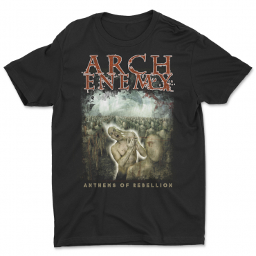 Arch Enemy Anthems of Rebellion 25 years anniversary tee tshirt