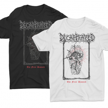 Decapitated The first Damned t-shirt tee white