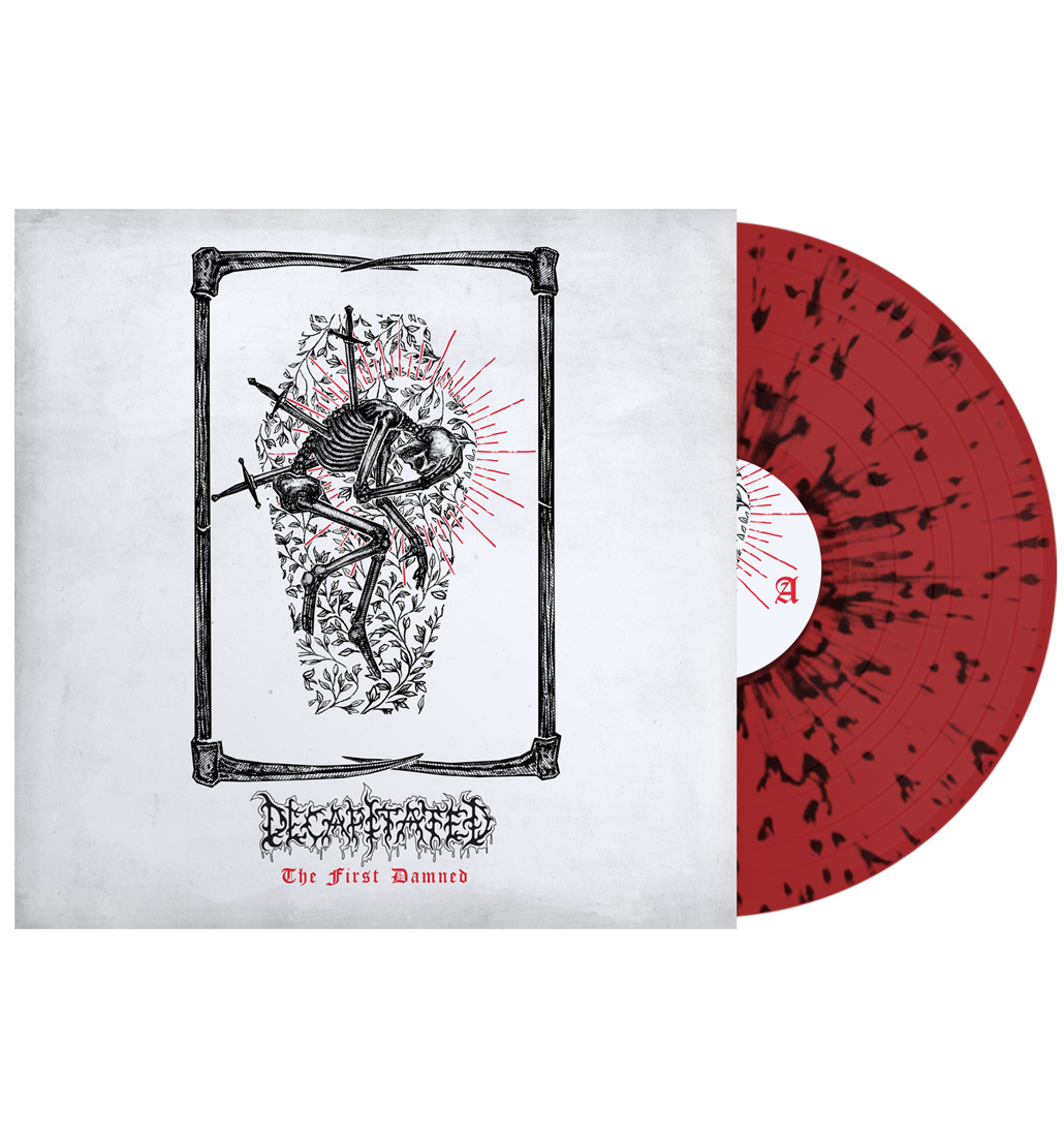 Decapitated The first Damned t-shirt vinyl