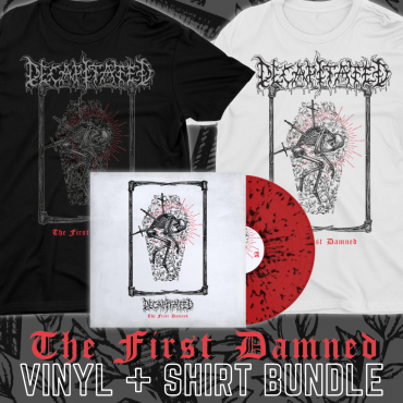 Decapitated The first Damned vinyl and tee tshirt bundle