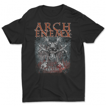 Rise of the Tyrant Arch Enemy 25 years anniversary t-shirt tee