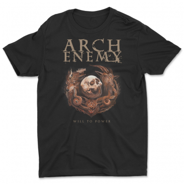 Arch Enemy Will to Power 25th anniversary tee tshirt