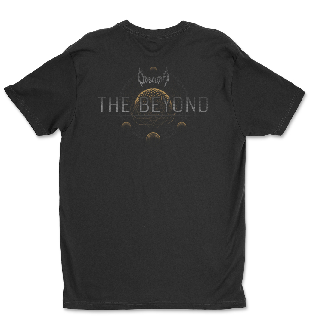 Obscura The Beyond tee tshirt back