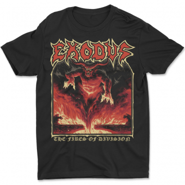 Exodus Persona Non Grata The Fires of Division tee t-shirt